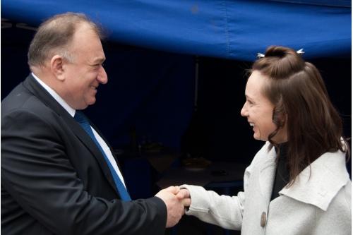 Шаварш Карапетян и Чулпан Хаматова. Игры-2012